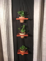 "Load image into Gallery viewer, 3 Pot Plant Shelf ""Shwing"""