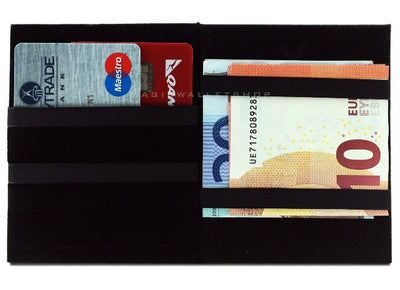 Slim Magic Wallet Vinyl - Black