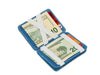 Hunterson RFID Magic Coin Wallet-Azur-White