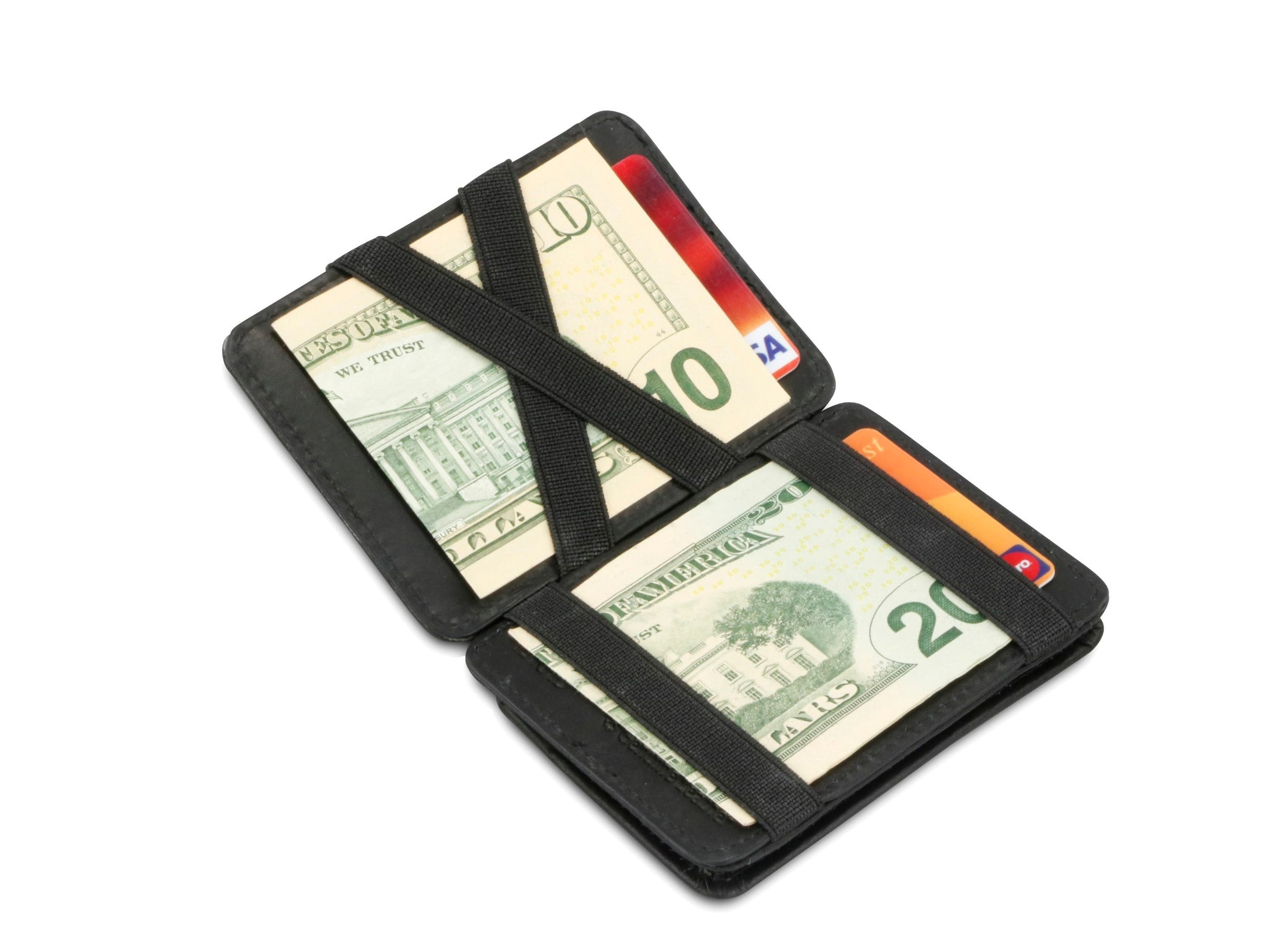 Hunterson RFID Magic Coin Wallet-Black