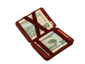 Hunterson RFID Magic Coin Wallet-Burgundy