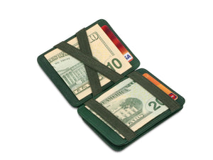 Hunterson RFID Magic Coin Wallet-Green