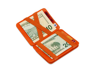 Hunterson RFID Magic Coin Wallet-Orange