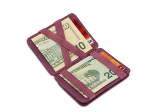 Hunterson RFID Magic Coin Wallet-Purple