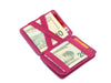 Hunterson RFID Magic Coin Wallet-Raspberry