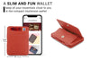 Hunterson RFID Magic Coin Wallet-Terracotta