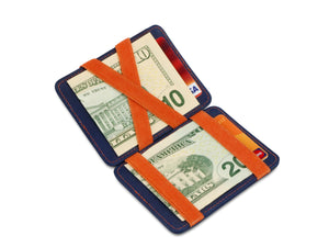 Hunterson RFID Magic Wallet-Blue-Orange