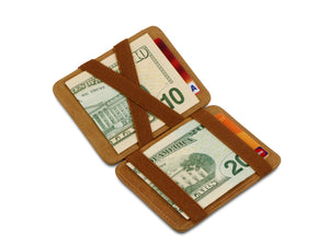 Hunterson RFID Magic Wallet-Cognac