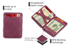 Hunterson RFID Magic Wallet-Purple