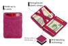 Hunterson RFID Magic Wallet-Raspberry