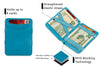 Hunterson RFID Magic Wallet-Turquoise