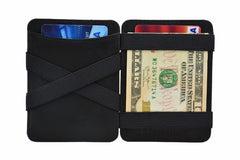 Hunterson Leather Magic Coin Wallet - Black