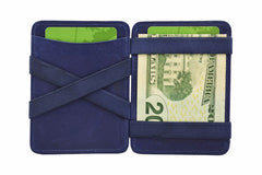 Hunterson Leather Magic Coin Wallet - Blue