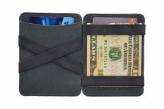 Hunterson Leather Magic Coin Wallet - Grey