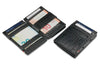 Garzini RFID Leather Magic Coin Wallet Croco-Black