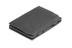 Garzini RFID Leather Magic Coin Wallet Nappa - Black - 1
