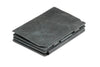 Garzini RFID Leather Magic Coin Wallet Plus Brushed - Black - 1