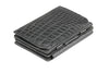 Garzini RFID Leather Magic Coin Wallet Plus Croco-Black