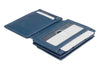 Garzini RFID Leather Magic Coin Wallet Plus Nappa-Blue
