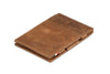 Garzini RFID Leather Magic Wallet Brushed - Brown - 1