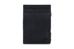 Garzini RFID Leather Magic Wallet - Black