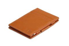 Garzini RFID Leather Magic Wallet Nappa - Cognac - 1