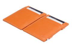 Garzini RFID Leather Magic Wallet Nappa - Cognac - 4