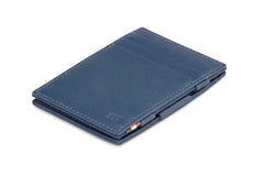 Garzini RFID Leather Magic Wallet Nappa - Blue - 1