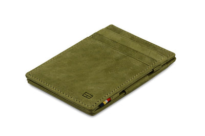 Garzini RFID Leather Magic Wallet - Green