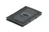 Garzini RFID Leather Magic Wallet ID Window Brushed - Black - 1