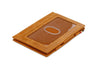 Garzini RFID Leather Magic Wallet ID Window Brushed - Cognac - 1