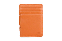 Garzini RFID Leather Magic Wallet ID Window Nappa - Cognac - 2