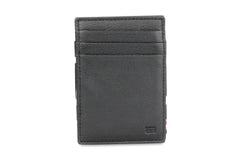 Garzini RFID Leather Magic Wallet ID Window Nappa - Black - 2
