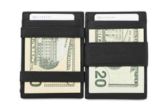 Garzini RFID Leather Magic Wallet ID Window Nappa - Black - 8