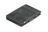 Garzini RFID Leather Magic Wallet Plus Brushed - Black - 1