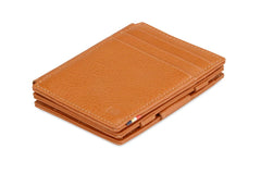 Garzini RFID Leather Magic Wallet Plus Nappa - Cognac - 1