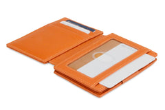 Garzini RFID Leather Magic Wallet Plus Nappa - Cognac - 4
