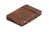 Garzini RFID Leather Magic Wallet Plus Croco - Brown - 1