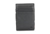 Garzini RFID Leather Magic Wallet Plus Nappa-Black