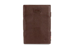 Garzini RFID Leather Magic Wallet Card Sleeves Nappa - Brown - 2
