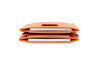 Garzini RFID Leather Magic Wallet Card Sleeves Nappa-Cognac