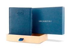 Garzini RFID Leather Magic Wallet Card Sleeves Nappa - Blue - 8