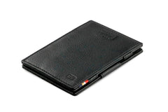Garzini RFID Leather Magic Wallet Card Sleeves Nappa - Black - 1