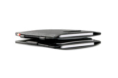 Garzini RFID Leather Magic Wallet Card Sleeves Nappa - Black - 6