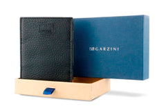 Garzini RFID Leather Magic Wallet Card Sleeves Nappa - Black - 8