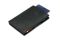 Garzini RFID Leather Magic Wallet Card Sleeves Nappa - Black - 7