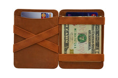 Hunterson Leather Magic Wallet - Cognac