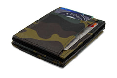 Pegasus Leather Magic Coin Wallet - Camouflage