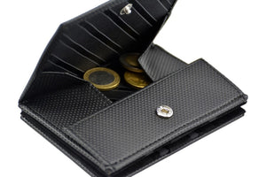 Pegasus Vinyl Black Dots Magic Coin Wallet-