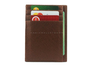 Pegasus Vinyl Magic Wallet-Brown